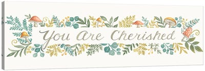 You Are Cherished Canvas Art Print