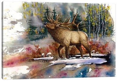 Autumn Music Canvas Art Print