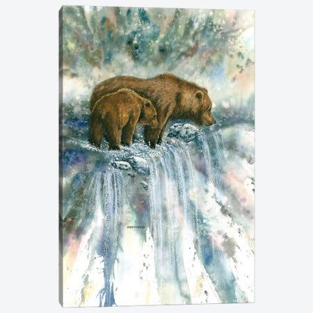 Bear Pause Canvas Print #DBT31} by Dave Bartholet Canvas Print
