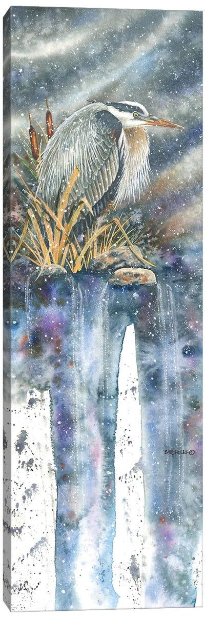 Burrr... Canvas Art Print