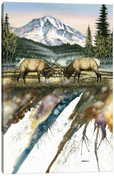 Clash Of The Titans Canvas Art Print