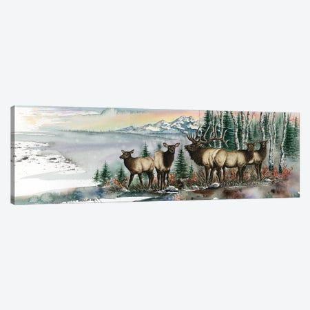 Clear Cut Bull Canvas Print #DBT43} by Dave Bartholet Canvas Wall Art