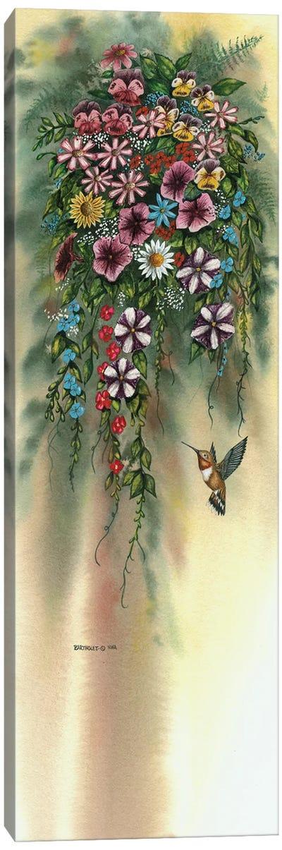 Hanging Basket Canvas Art Print