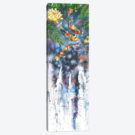 Koi Dances Canvas Print #DBT50} by Dave Bartholet Canvas Print