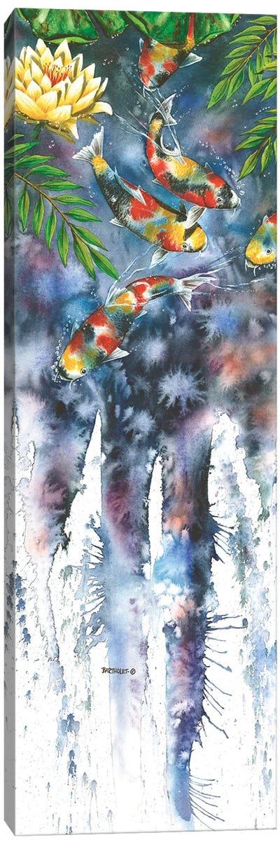 Koi Dances Canvas Art Print
