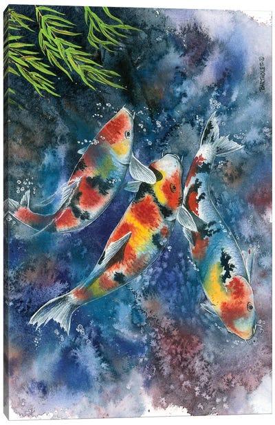 Koi Joi Canvas Art Print