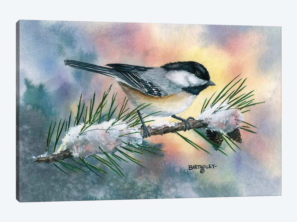 Little Flitter by Dave Bartholet 1-piece Canvas Art