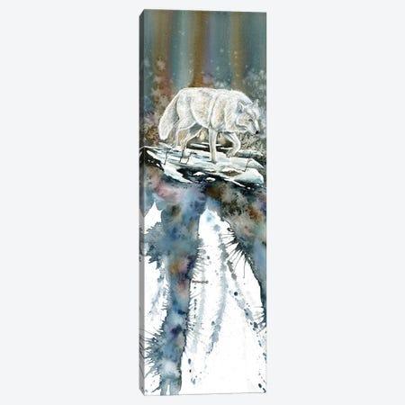 Lone Wolf Canvas Print #DBT75} by Dave Bartholet Canvas Art