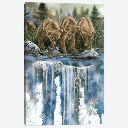 Looks Like Sockeye To Me Canvas Print #DBT79} by Dave Bartholet Canvas Art Print