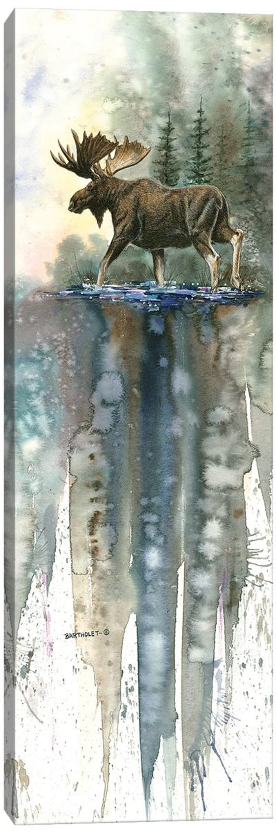 High Steppin' Canvas Art Print