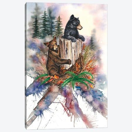 Double Trouble Canvas Print #DBT92} by Dave Bartholet Canvas Art Print