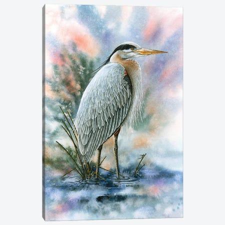 Marsh Master Canvas Print #DBT98} by Dave Bartholet Art Print