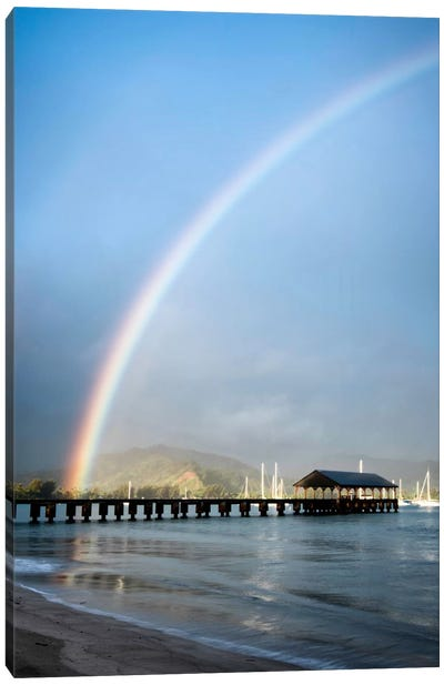 Rainbows At Hanalei II Canvas Art Print