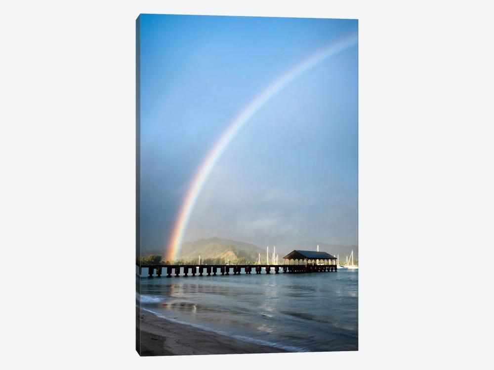 Rainbows At Hanalei II by Daniel Burt 1-piece Canvas Artwork