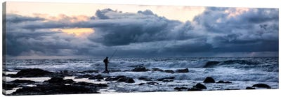 Surf Fishing Canvas Art Print