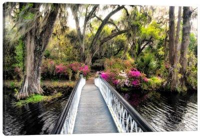The Garden Bridge Canvas Art Print