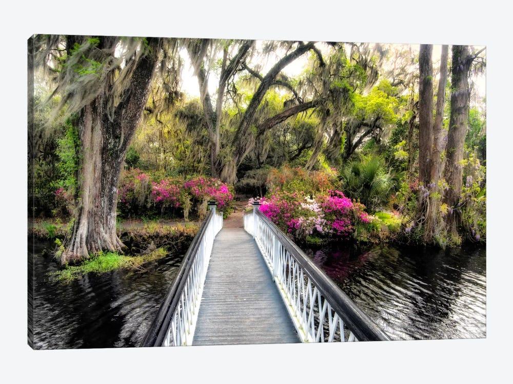 The Garden Bridge by Daniel Burt 1-piece Canvas Wall Art