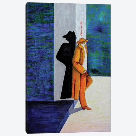 The Alone Man Canvas Print #DBW101} by DB Waterman Canvas Wall Art
