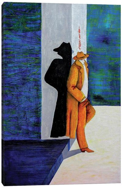 The Alone Man Canvas Art Print