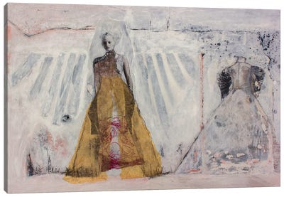 The Bridal Gown Canvas Art Print