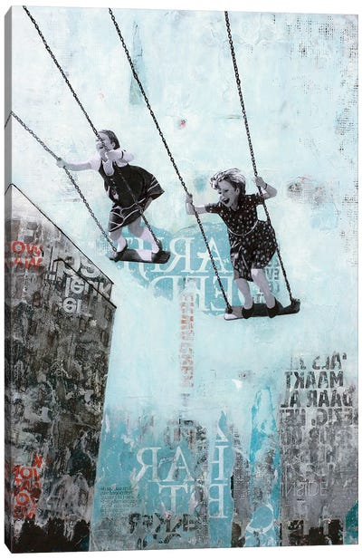 Saturday Swing Canvas Art Print