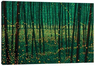 Lightning Bugs Canvas Art Print