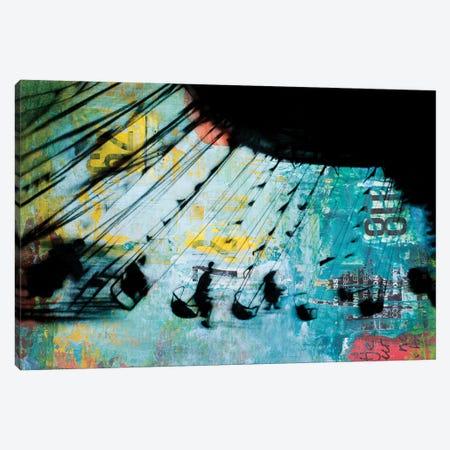 Merry Go Round Canvas Print #DBW115} by DB Waterman Canvas Art