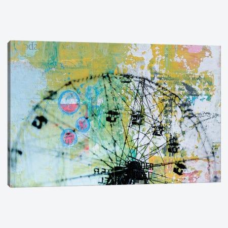 Wonder Wheel Canvas Print #DBW116} by DB Waterman Canvas Wall Art