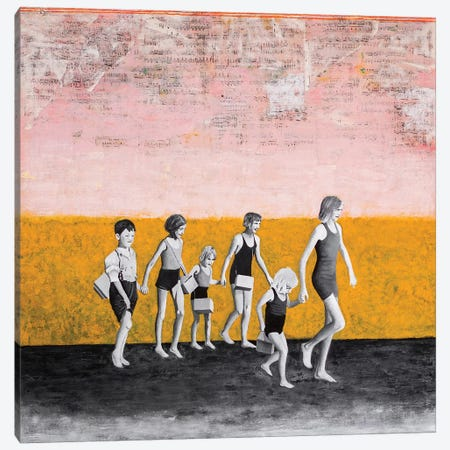 Against All Odds Canvas Print #DBW117} by DB Waterman Canvas Artwork