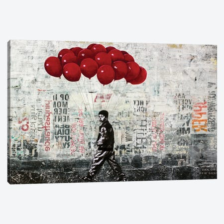 Bit Of Happiness Canvas Print #DBW120} by DB Waterman Canvas Wall Art