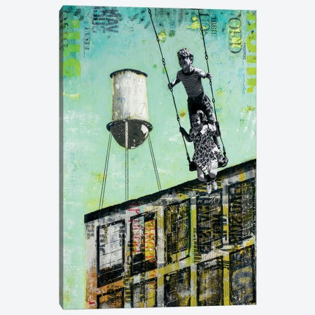 Day At Uncle Bob Canvas Print #DBW121} by DB Waterman Canvas Wall Art