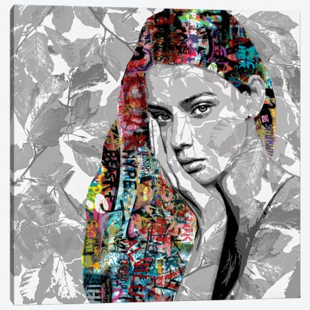 The Fortunate Girl Canvas Print #DBW128} by DB Waterman Canvas Wall Art