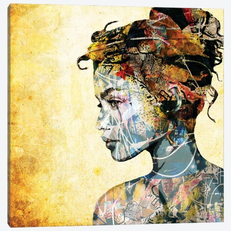 The Gifted Girl Canvas Print #DBW129} by DB Waterman Canvas Wall Art