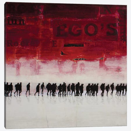 Ego's Canvas Print #DBW12} by db Waterman Canvas Art
