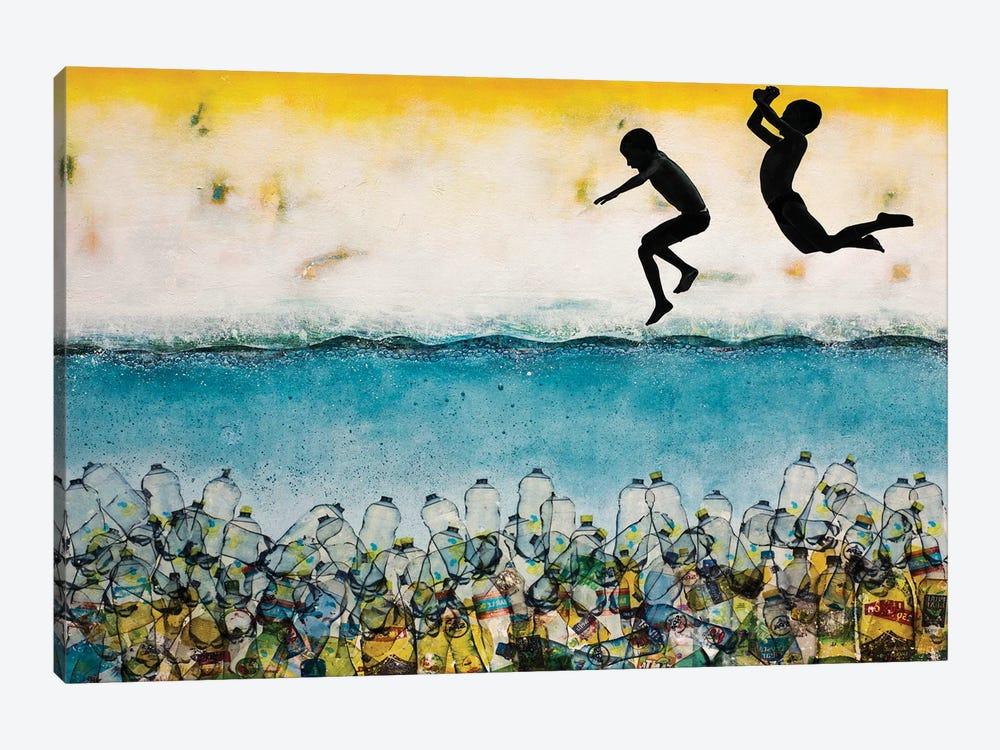 It Seemed Such A Good Idea by DB Waterman 1-piece Canvas Artwork
