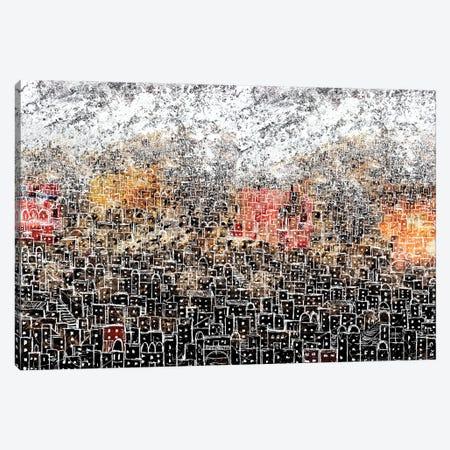 White City Canvas Print #DBW134} by DB Waterman Canvas Art