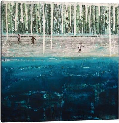 Frozen Canvas Print #DBW14