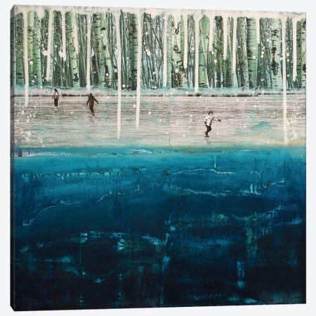 Frozen Canvas Print #DBW14} by DB Waterman Canvas Print