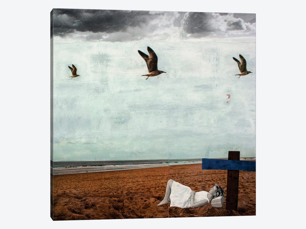 Grey Summer Breeze 1-piece Canvas Art