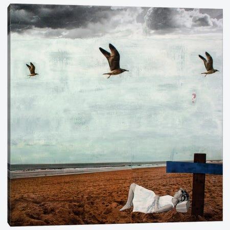 Grey Summer Breeze Canvas Print #DBW16} by DB Waterman Canvas Art Print