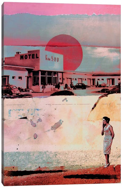 Motel 500 Canvas Art Print