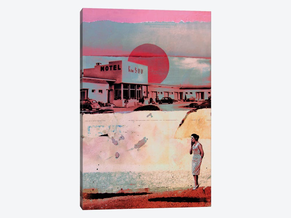 Motel 500 by db Waterman 1-piece Canvas Wall Art