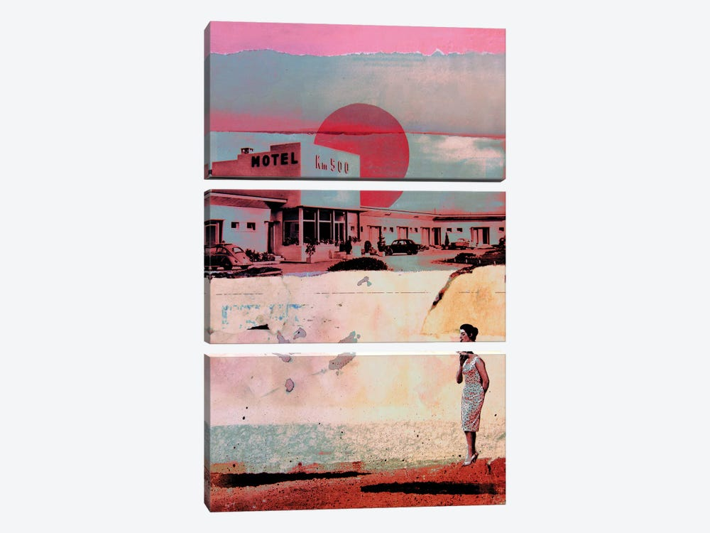 Motel 500 by db Waterman 3-piece Canvas Art