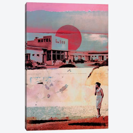 Motel 500 Canvas Print #DBW23} by DB Waterman Art Print