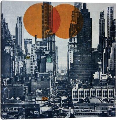 New York Skyline 1948 Canvas Art Print