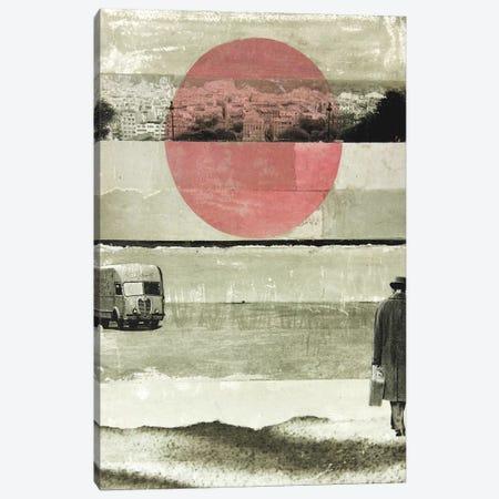 Pink Moon Rising Canvas Print #DBW28} by DB Waterman Canvas Art Print