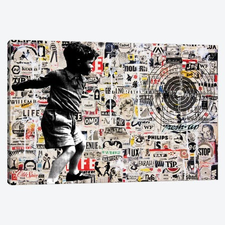 Target Canvas Print #DBW33} by DB Waterman Canvas Art