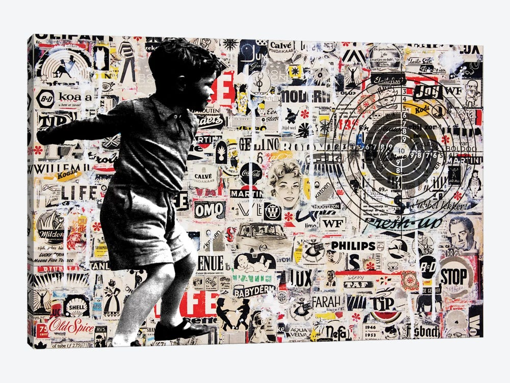 Target by db Waterman 1-piece Art Print