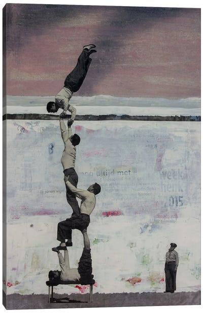 The Big Escape Canvas Art Print