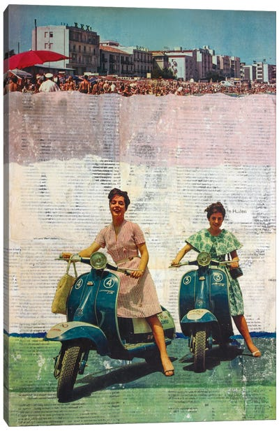 The Sweet Past Canvas Art Print